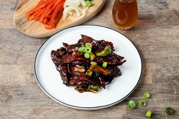 Beef Honey Soy Stir-fry